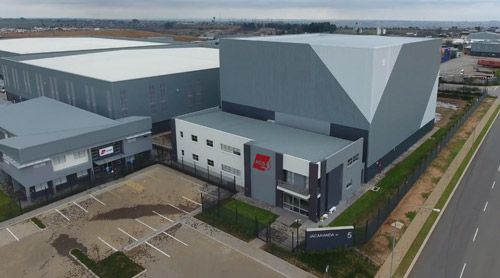 AGS new facility warehouse
