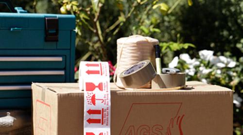 Removals carton and tool box