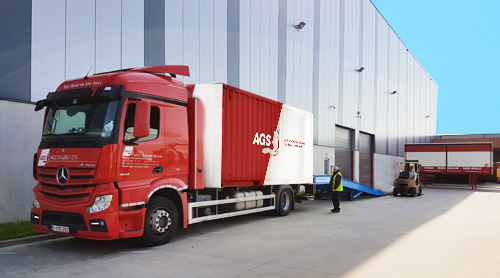 AGS Truck and warehouse